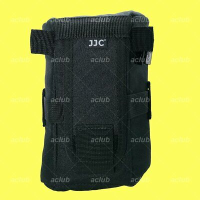JJC Water Resistant Deluxe Lens Pouch Case 100x175mm - Camera Lens Below 182mm