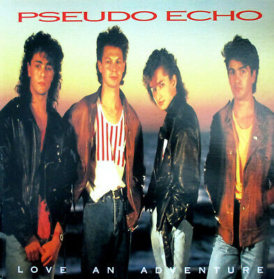 PSEUDO ECHO +love an adventure+ LP+1987+NM+FUNKY TOWN