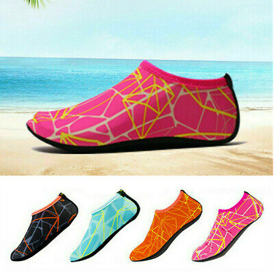 UK Adults Mens Womens Water Shoes Aqua Socks Non Slip Beach Swim Wetsuit Shoes