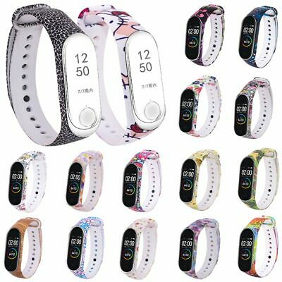 For Xiaomi MI Band 4 3 Replacement Bracelet Silicone Printed Strap Wristband New