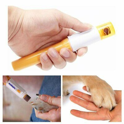 UK Portable Pet Nail Grooming Grinder Electric Dog Cat Paw Trimmer Clipper Tool