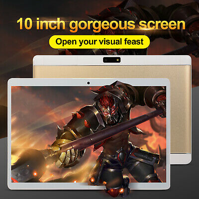 """10.1"""" HD Game Tablet Computer PC Android 8.0 6+64GB Dual Camera Tablet 3G WiFi"""