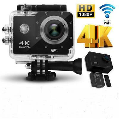 Ultra 4K Full HD 1080P Sport WiFi Cam Action Camera DV Video Recorder Camcorder~