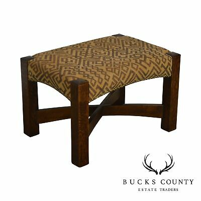 Stickley Mission Collection Oak Eastwood Footstool