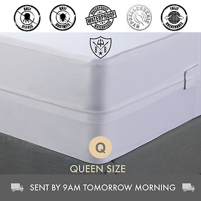Dust Mite Allergy, Mattress Protector & Cover | Queen Size