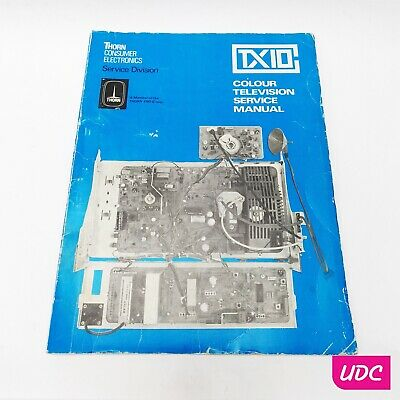Thorn TX10 Colour Television Service Manual