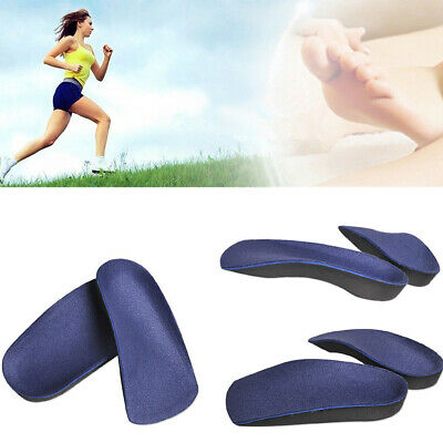 Unisex Orthotic Insoles Shoe Insert Pad Arch Support Cushion Sport Running XS-L
