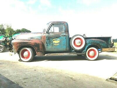 1955 Chevy sidestep pick up truck