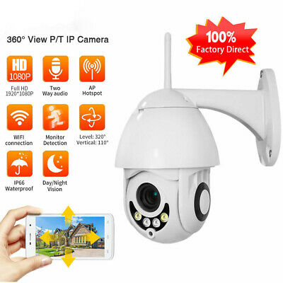2Mp Telecamera Ptz 1080P Full Hd Esterna Ip Camera Motorizzata Ir Wifi Webcam
