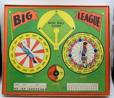 Vintage All-Star Classic! 1940 BIG LEAGUE BASEBALL Board Game. Selchow & Righter