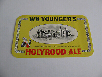 Wm YOUNGER'S  HOLYROOD ALE  Scottish Brewers Ltd EDINBURGH SCOTLAND