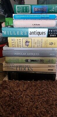 +11+ GREAT COLLECTION of BOOKS !!!ANTIQUE CLOCKS & WATCHES CLOCKMAKERS !!!