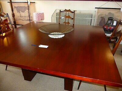 Sven Christiansen Large Mid Century Dining Table Board Room Table Office Table