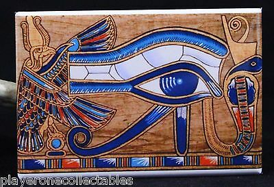 "Eye of Horus 2"" X 3"" Fridge / Locker Magnet. Ancient Egyptian Heiroglyph"