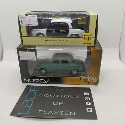 Norev 3 inches 1/64 Renault Dauphine