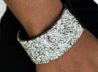 """Paparazzi """"Life of the Party"""" Bracelet - More Bang For Your Buck - Black"""