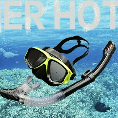 Fully Dry Breathing Tube Snorkeling Suit Diving Equipment Diving Mask