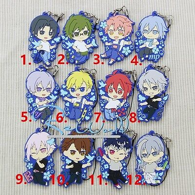 IDOLiSH7 Trigger Re:vale earth music Riku 一番くじ Rubber Phone Strap Charm Keychain
