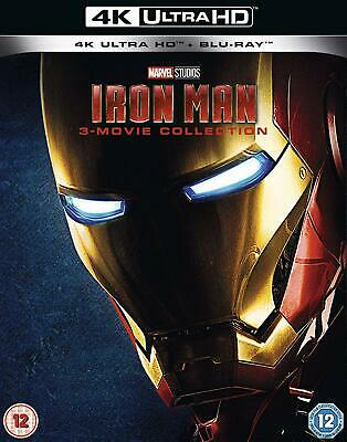 Iron Man Trilogy 3-Movie Collection (4K UHD + Blu-ray) NEW / SEALED - PRE-ORDER