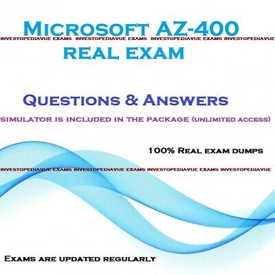 AZ-400 real Exam dumps questions answers and Simulator