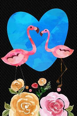 Diary 2020: Flamingo in Love Monthly Week to View Planner ~ NEW ~ 9781080017669