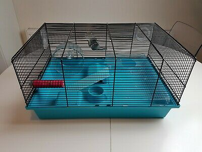 Medium Size Pet Hampster Cage With Accessories FAST FREE SHIPMENT