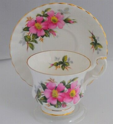 Royal Albert Prairie Rose Cup & Saucer ( 12 available )