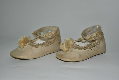 Antique Victorian Baby Shoes or Doll Shoes