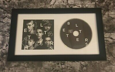 GFA 8 Letters Boy Band * WHY DON'T WE * Signed Framed CD Booklet W2 COA