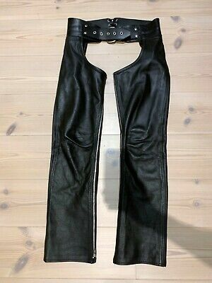 Heavy Leather Chaps zip - Size 32