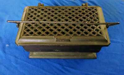 Antique French Corneau Freres Cast Iron Carriage/ Church Foot Warmer
