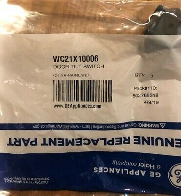 WC21X10006 New GE Appliance part for a trash Compactor