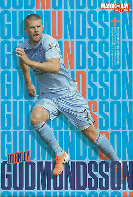 MOTD-POSTER 2019//20-BURNLEY /& ICELAND-CHARLTON ATHLETIC-JOHANN BERG GUDMUNDSSON