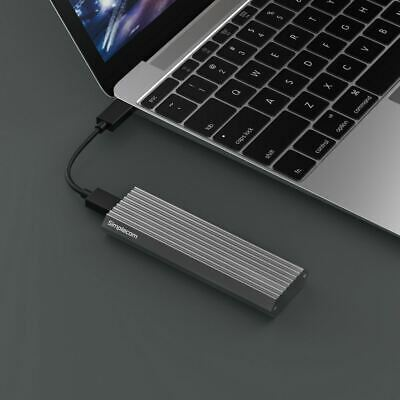 10Gbps NVMe M.2 Enclosure SSD Type-C Converter USB 3.1 External Drive Adapter