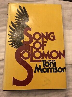 Song of Solomon by Toni Morrison (1977, Hardcover, Very Good, 1st, 1st)