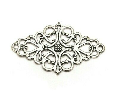 27x32mm-US Seller Antique Silver 20 or 50 BULK pcs Dragonfly Charms 4 AS673