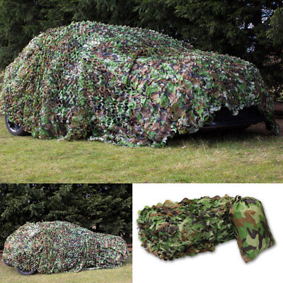 Shooting Hide Army Camouflage Net Hunting Camo Netting Woodland shelter Truck