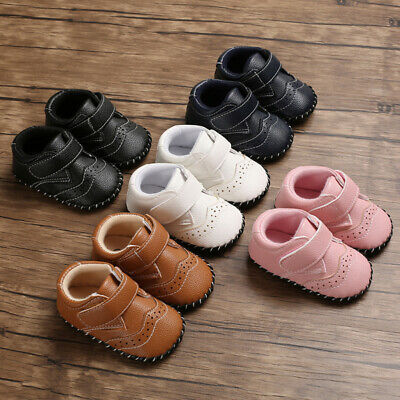 Infant Newborn Kids Baby Girl First Walking Butterfly-Knot Single Princess Shoes