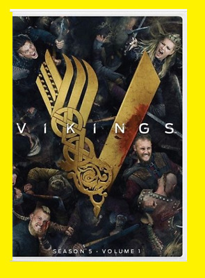 New & Sealed Vikings: Season 5, Volume 1 (DVD,2018) Free Shipping