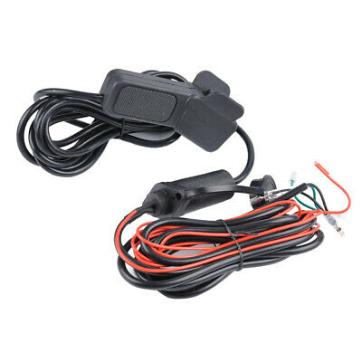 Universal 12V/24V Winch Control Switch Cable Wire Kit For Car ATV UTV AUV