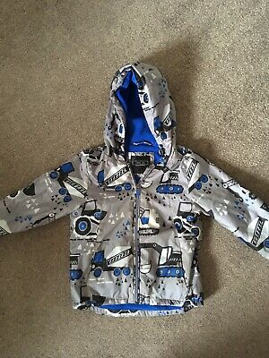 2019 real limited quantity luxuriant in design BOYS PADDED COAT Digger Print Age 3-4 Years George Asda ...