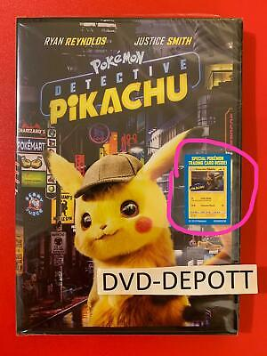 Pokemon: Detective Pikachu DVD  *AUTHENTIC READ LISTING* New FAST Free Shipping
