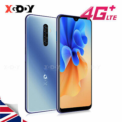 """2020 New NOTE8 Smartphone Android 9.0 4G+16GB 6.3"""" Mobile Smart Phone Dual SIM"""