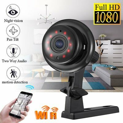 Mini Wireless IP Hidden Spy Camera WIFI 1080P HD For Home Surveillance Cam