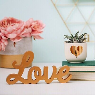 GOLD standing Love Sign- Sass & Belle- Wedding TOP TABLE/ Engagement Party Decor