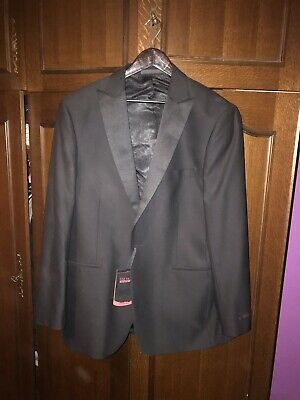 Ted Baker Endurance Men's Dark grey suit 42R / 34w VGC