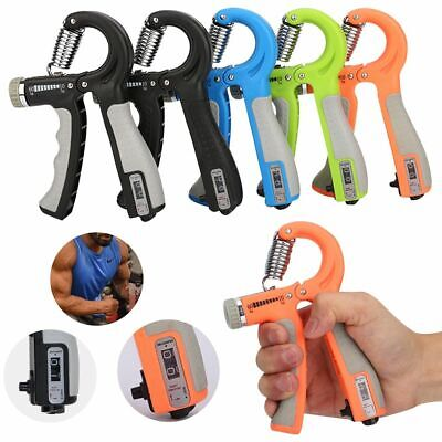 Adjustable 10-60KG Forearm Exerciser Hand Grip Gripper Strength Training Fitness