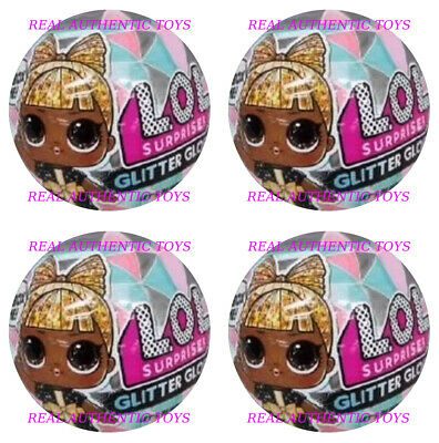 4 Balls! Lol Surprise - Winter Disco Glitter Globe *No Duplicate Dolls* Preorder