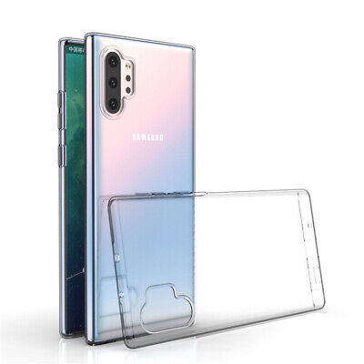 For Samsung Galaxy Note 10 Plus 9 8 5 4 3 2 Ultra-thin Clear Soft TPU Case Cover