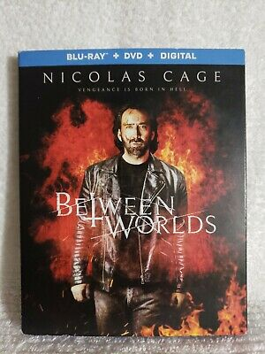 Between Worlds (Blu-Ray + DVD) No Digital ~Nick Cage~ *UNUSED* ~FREE SHIPPING~